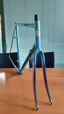 BIANCHI vintage italian steel road frameset size 58