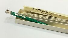 More details for lovely eversharp pencil, in box, green & black & white, made in england, 1940's