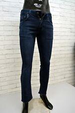 TOMMY HILFIGER Jeans Slim Blu Pantalone Cotone Elastico Uomo Taglia 30 Pants Men