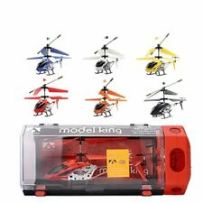 Mini Drone RC Helicopter 3.5 Channel Drop-Resistant Alloy RC Helicopter Aircraft