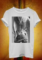 Bonjour Good Morning Funny Hipster Cool Retro Men Women Top Unisex T Shirt 1013