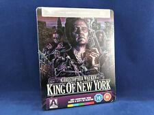 KING OF NEW YORK Steelbook Bluray Christopher Walken Wesley Snipes DVD NEW