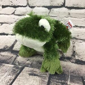 Ganz Webkinz Lil' Kinz Frog Green Shaggy Stuffed Animal Toad Soft Toy