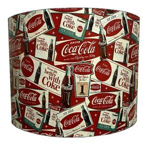 Coca Cola Lampshades, Ideal To Match Coca Cola Duvet Covers, Coca Cola Wallpaper