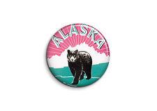 Vintage - Alaska 1 - Badge 56mm Button Pin