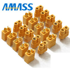 10 pairs AMASS XT60 xt-60 Power Plug Connectors for RC Lipo Battery