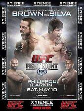 UFC Fight Night Cincinnati May 10th 2014 Poster (24x36) - Matt Brown Erick Silva