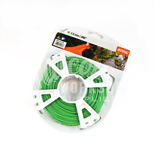 "Genuine Stihl Decespugliatore Filo 2.0mm (.80"") 123m Rotondo Verde Decespugliatore Linea"