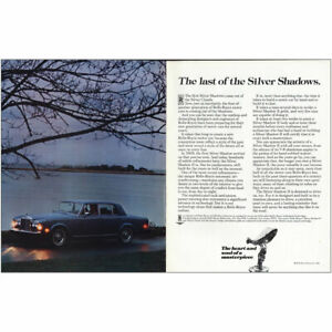 1981 Mercedes Benz: Last of the Silver Shadows Vintage Print Ad