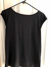 Women's GAP BODY Fit Black Sleeveless Tee - Size XS