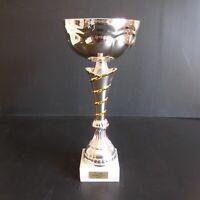 Trophée coupe CUP football sport collection vintage art déco métal marbre N5101