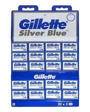 Gillette Silver Blue Double Edge Razor Shaving Blades