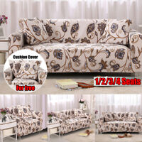 1-4 Seater Elastic Sofa Covers Slipcover Settee Stretch Couch Wrap  z