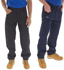 Cargo Action Work Trousers Zip pockets kneepad pockets