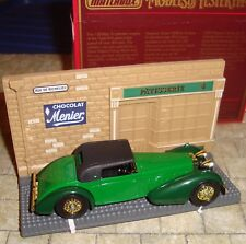 MATCHBOX - MODELS OF YESTERYEAR - 1938 HISPANO SUIZA CAR  & DIARAMA/ BOXED -Y-17