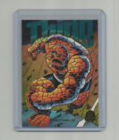 THING 1994 MARVEL UNIVERSE LIMITED EDITION POWER BLAST CARD #9