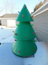 New listing Rare Holiday Hues Blowmold Christmas Tree