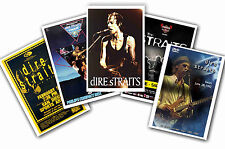 DIRE STRAITS - SET OF 5 - A4 POSTER PRINTS # 1