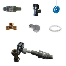 FRIDGE FILTER AND WATER FILTER CONNECTION KIT - PRESSURE / ISOLATION VALVES