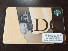"Starbucks ""WASHINGTON DC 2015"" Gift Card - New No Value"