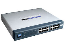 Cisco small business sr216 switch 10/100 Mbps 16 x rj45