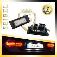 2 x Premium LED Kennzeichenbeleuchtung Kennzeichenleuchten für Skoda Xenon Weiss