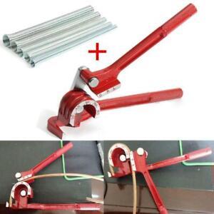 """Manual Copper Pipe Bender+1/4"""" 5/16"""" 3/8"""" 1/2"""" 5/8"""" Spring Bending Tube Pipes"""