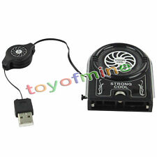 Mini Vacuum USB Cooler Air Extracting Cooling Pad Fan for Notebook Laptop