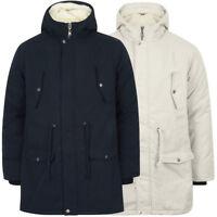 Tokyo Laundry Men's Astrid Hooded Fishtail Parka Jacket Coat Size S M L XL XXL
