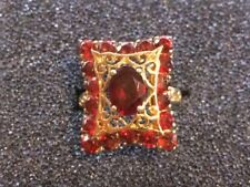 Ruby Ring Size 7 10Kp Yellow Gold & 1.18