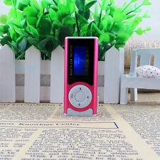 Shiny Mini USB Clip LCD Screen MP3 Media Player Support 16GB Micro SD