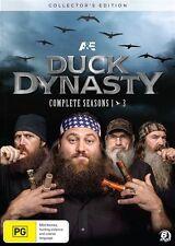 Duck Dynasty : Season 1-3 (DVD, 2014, 6-Disc Set) - Region 4