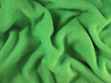 (EUR 4,97/m) FLEECE Stoff Antipilling Meterware kuschlig weich Light Green