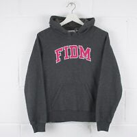 Vintage FIDM Fashion College Grey Pullover Hoodie Size Women's Small /R9050