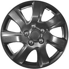FIAT Satz original 4x Dallas Radzierblenden Radabdeckungen 4er Set 16 Zoll grau