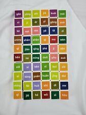 Chinese Cubes Learning Game English/ Mandarin/ Pinyin 60 Language Cubes