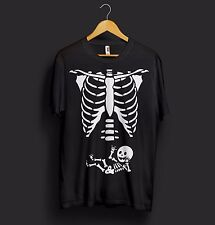 Maternity Baby Skeleton T Shirt Halloween Costume Baby Pregnant Baby Shower