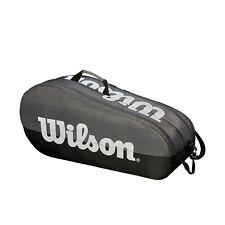 Wilson Team 2 Compartment 6 Pack Tennis Bag - Grey/Black - Authorized Dealer