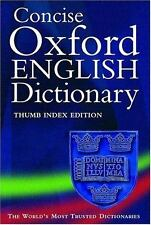 Concise Oxford English Dictionary: Thumb Edition (Dictionary)
