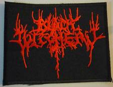 BLACK WITCHERY embroided patch Archgoat Blasphemy Proclamation Conqueror