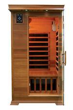 1 Person Elite Infrared Sauna Carbon Fiber Heat Saunas