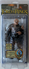 LORD OF THE RINGS GOTHMOG ORC COMMANDER ROTK  MOC LOTR + LOTR PROTECTIVE CASE