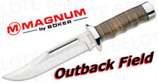 Boker Magnum Outback Field w/ Leather Sheath 02MB704