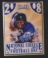 New Rare Limited Edition 2008 National College Football Day Lapel Pin