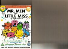 MR MEN COMPLETE ORIGINAL SERIES 1 AND 2 AND COMPLETE LITTLE MISS SERIES DVD KIDS