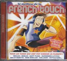 CD 13T FRENCH TOUCH ANGGUN/DEEP FOREST/SUPERFUNK/DAFT PUNK/GALLEON/GUETTA NEUF
