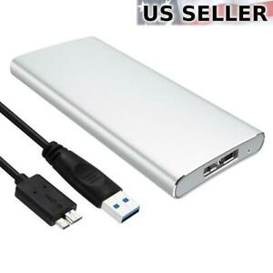 External mSATA SSD to USB 3.0 SuperSpeed Converter Adapter Enclosure Case
