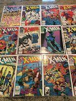 Uncanny XMen 226-239! Marvel Comics! 12 Book Lot! Wow!