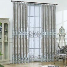 Lace Curtain Luxury Sheers Window Treatments Home Valance Custom Fabric 1 Piece