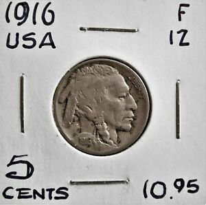 1916 United States 5 cents